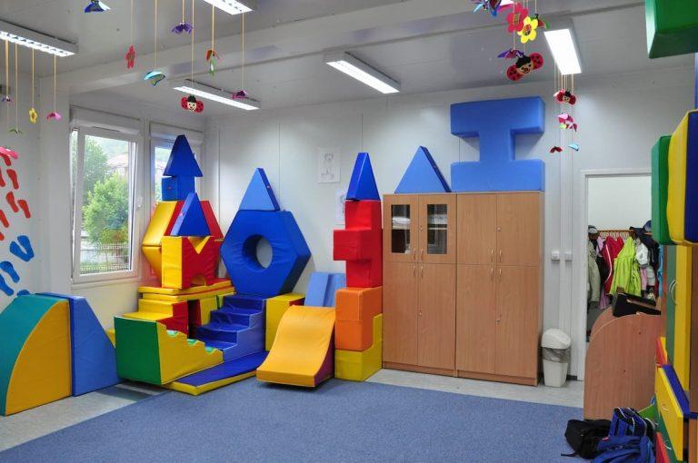 Sala zabaw wszkole modułowej
