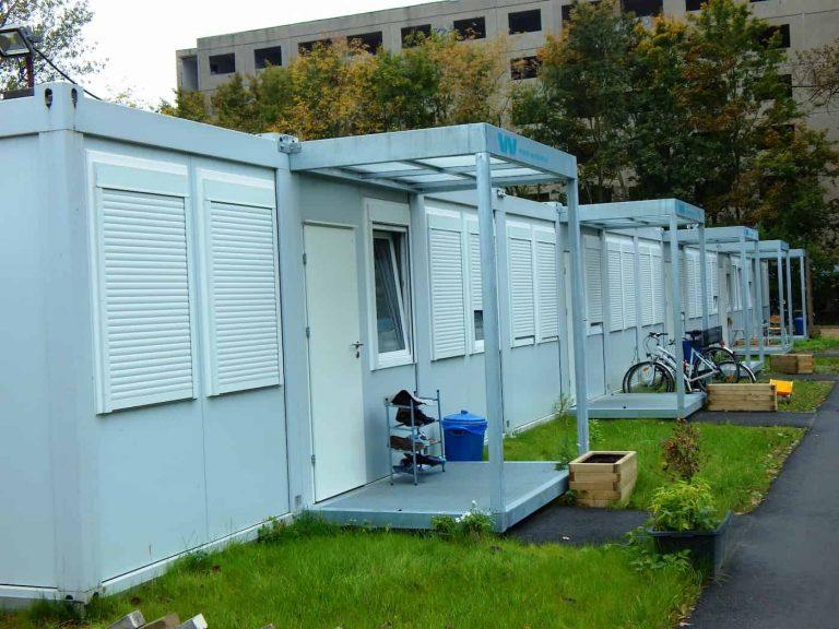 Mieszkalne kontenery weldon dla rodzin