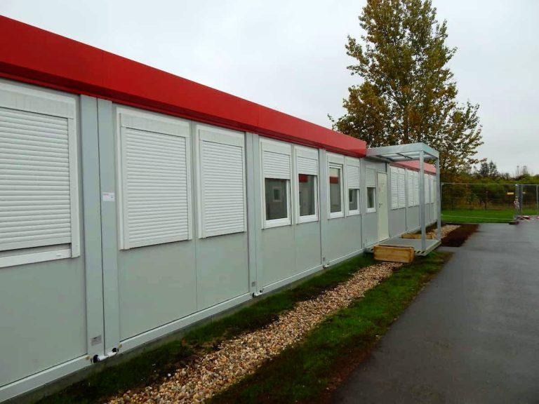 Mieszkanie socjalne zkontenerów wBerlinie wyprodukowane przezfirmę Weldon Polska Niemcy